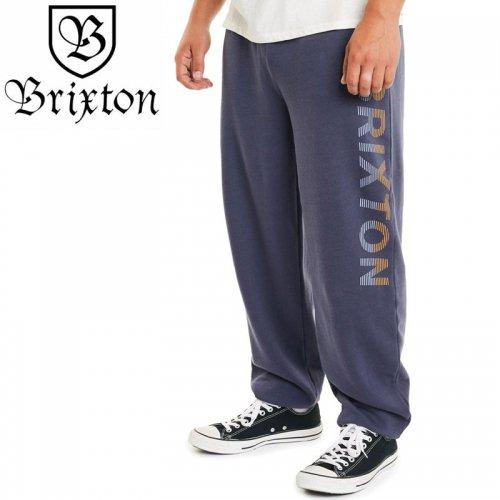 【BRIXTON ブリクストン スウェットパンツ】TREAD SWEATPANTS【ネイビー】NO6