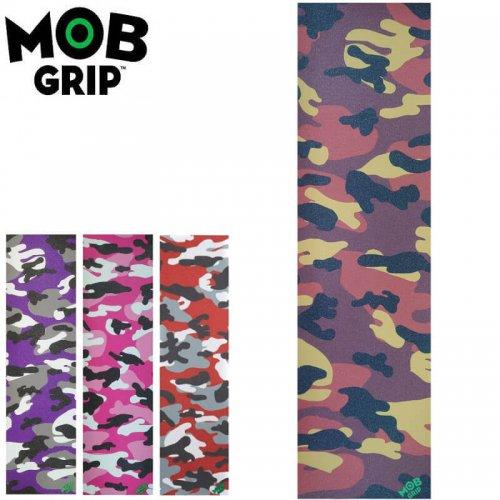 【モブグリップ MOB GRIP デッキテープ】CAMO GRIPTAPE【4カラー】【9x33】NO190