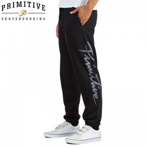 【PRIMITIVE プリミティブ スケボー スウェット パンツ】NUEVO SWEATPANTS【ブラック】NO2