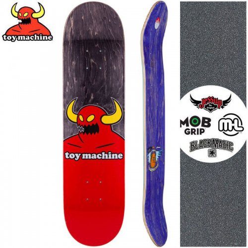 【トイマシーン TOY MACHINE デッキ】MONSTER BLACK DECK【7.75インチ】【8.1インチ】【8.38インチ】NO176