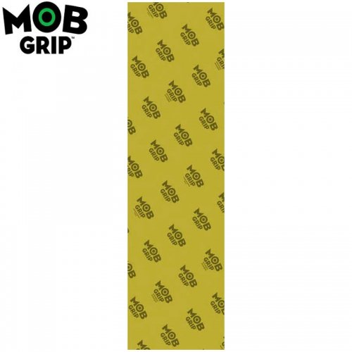 【モブグリップ MOB GRIP デッキテープ】TRANS COLORS GRAPHIC クリアイエロー GRIPTAPE 9 x 33 NO122