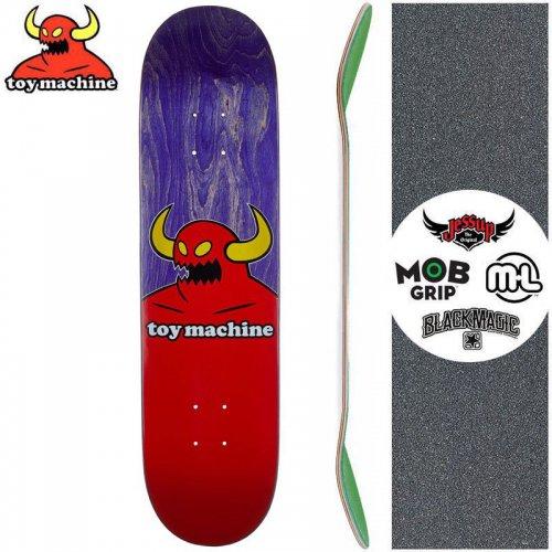 【トイマシーン TOY MACHINE キッズ デッキ】MONSTER PURPLE MINI DECK[7.38インチ]NO6