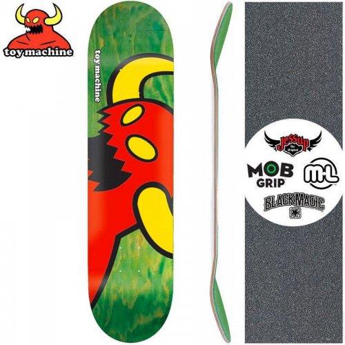 【トイマシーン TOY MACHINE キッズ デッキ】VICE MONSTER GREEN MINI DECK[7.38インチ]NO7