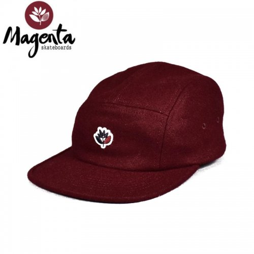 MAGENTA マゼンタ スケボー キャップ PLANT 5 PANEL STRAPBACK CAP BURGUNDY NO11