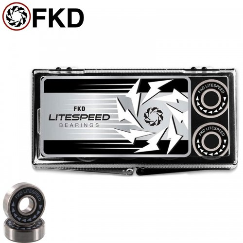 【FKD スケボー ベアリング】LITESPEED BEARINGS BEARINGS ABEC5相当 NO18