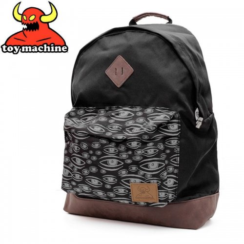 【TOY MACHINE トイマシーン スケボー バッグ】MULTI EYE BACKPACK バックパック NO5
