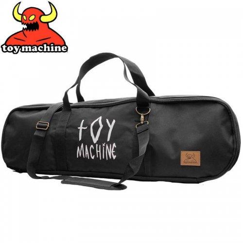 【TOY MACHINE トイマシーン スケボー バッグ】BLACK SKATEBOARD DUFFLE BAG ダッフルバッグ NO6