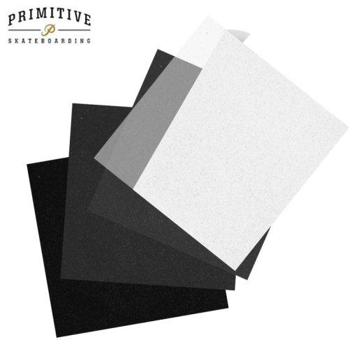 【PRIMITIVE プリミティブ スケボー デッキテープ】FOUR BLOCK GRIPTAPE 9x8.5 NO10