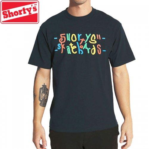 【ショーティーズ SHORTY'S スケボー Tシャツ】EFF YOU TEE【ネイビー】NO50