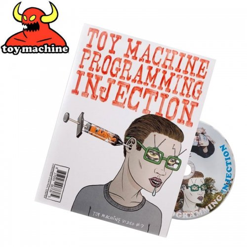 【トイマシーン TOY MACHINE スケボー DVD】PROGRAM INJECTION 映像作品 DVD NO6