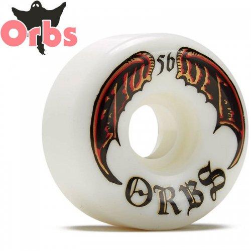 【オーブス ORBS スケボー ウィール】SPECTERS WHITES フルコニカル 99A ホワイト【56mm】NO20