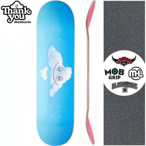 【THANK YOU SKATEBOARDS サンキュー スケートボード デッキ】HEAD IN THE CLOUDS DECK【7.75インチ】【7.875インチ】【8.0インチ】NO1