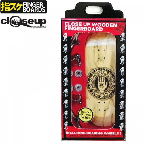 【クローズアップ フィンガーボード CLOSE UP FINGERBOARD】SLIDE BOX 33MM MEDIUM CONCAVE NO127