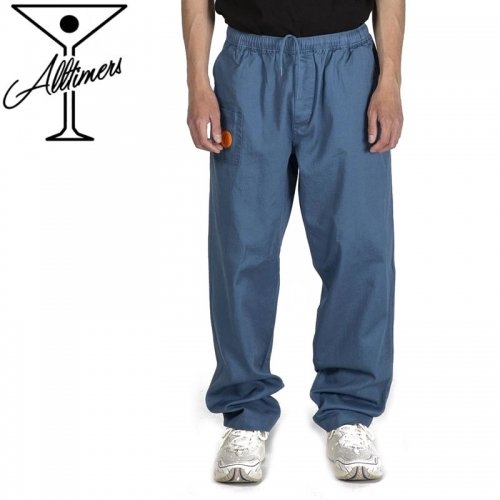 【オールタイマーズ  ALLTIMERS パンツ】YACHT RENTAL PANTS チノパンツ ストレートブルー NO1