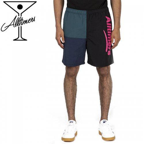【オールタイマーズ  ALLTIMERS パンツ】PART 3 SHORTS PANTS ショーツパンツ ブラック NO2