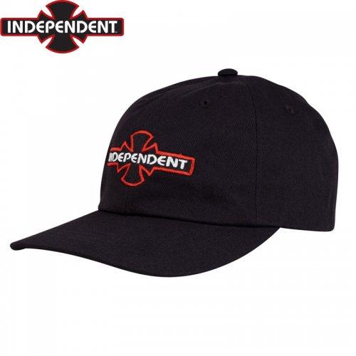 【インディペンデント INDEPENDENT キャップ】O.G.B.C. STANDARD UNSTRCTURED CAP ブラック NO62
