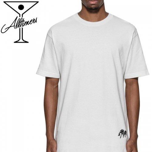 【ALLTIMERS オールタイマーズ スケボー Tシャツ】TINGLY TEE【ホワイト】NO11