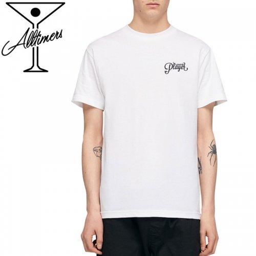 【ALLTIMERS オールタイマーズ スケボー Tシャツ】TWISTA TEE ホワイト NO14