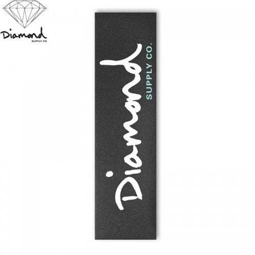 【DIAMOND SUPPLY ダイアモンド デッキテープ】DIAMOND OG SCRIPT GRIPTAPE WHITE 9 x 33 NO9