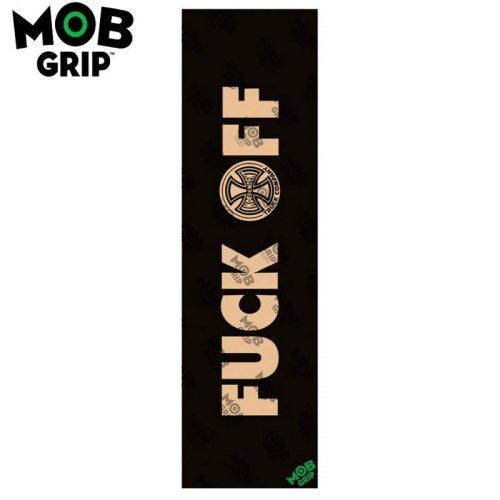 【モブグリップ MOB GRIP デッキテープ】INDEPENDENT FUCK OFF CLEAR GRIPTAPE 9 x 33 NO177
