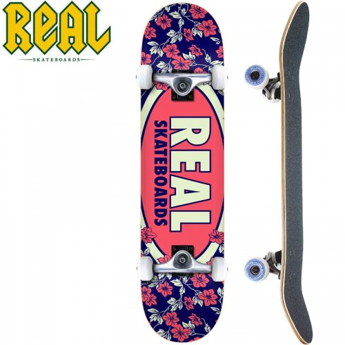 【リアル REAL スケートボード コンプリート】OVAL BLOSSOMS COMPLETE【7.75インチ】NO23