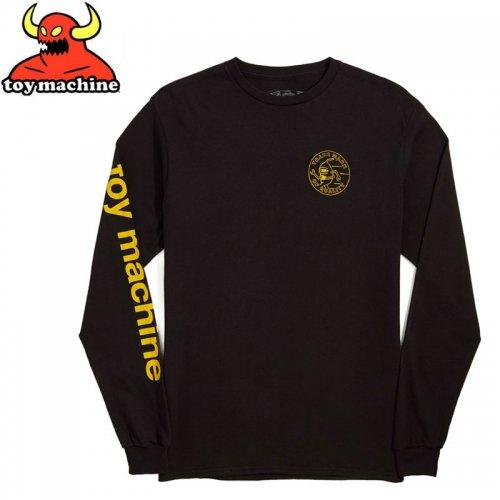 【トイマシーン TOY MACHINE スケボー ロングTシャツ】LOYAL PAWNS L/S T-SHIRT【ブラック】NO06