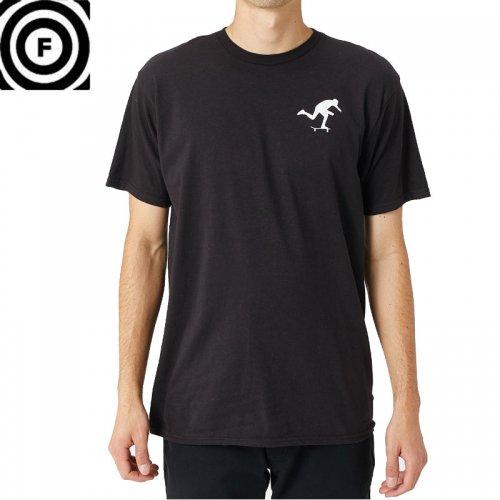 【ファンデーション FOUNDATION スケボー Tシャツ】 PUSH TEE【ブラック】NO33