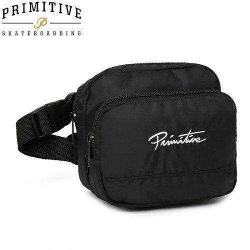 【プリミティブ PRIMITIVE スケボー バックパック】 NUEVO SHOULDER BAG NO2 ブラック