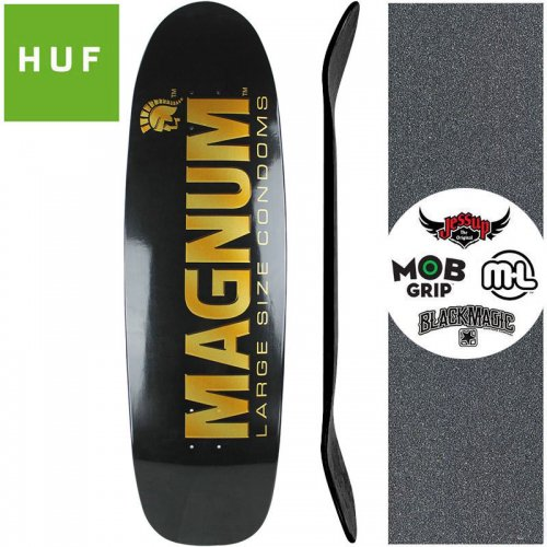 【HUF ハフ スケボー デッキ】HUF x TROJAN MAGNUM クルーザー DECK【9.87インチ】NO3