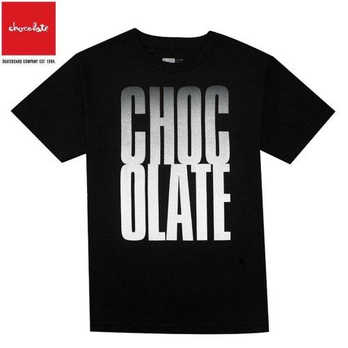 【チョコレート CHOCOLATE Tシャツ】BIG CHOCOLATE FADE TEE NO179