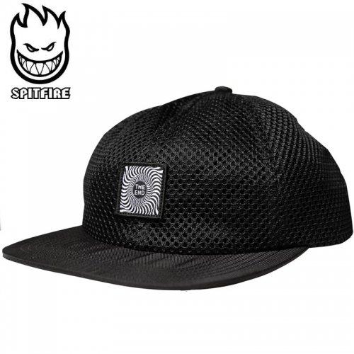 【スピットファイヤー SPITFIRE メッシュキャップ】SWIRL SNAPBACK HAT ブラック NO72
