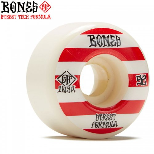 【ボーンズ BONES スケボー ウィール】PATTERNS V4 WIDE STF 103A【52mm】【54mm】NO229