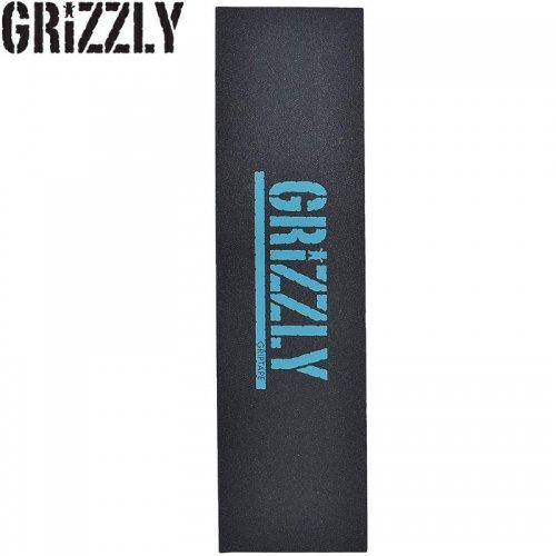 【グリズリー GRIZZLY GRIPTAPE デッキテープ】STAMP PRINT GRIP TAPE ブルー 9x33 NO30