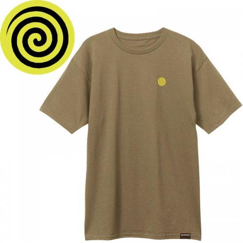 【MADNESS マッドネス スケボー Tシャツ】HYPNOTIZE TEE【サファリグリーン】NO6
