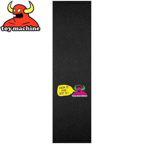【TOY MACHINE トイマシーン デッキテープ】GRIP & RIP IT GRIP TAPE 9 x 33 NO5