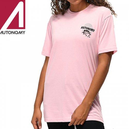 【オートノミー AUTONOMY レディース Tシャツ】SUBROSA TEE【ライトピンク】NO1