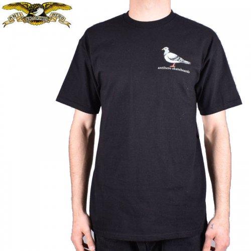 半額セール【アンタイヒーロー ANTIHERO スケボーTシャツ】LIL PIGEON TEE【ブラック】NO108