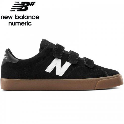 【NEW BALANCE NUMERIC ニューバランス シューズ】AM210VNM SHOES スウェード【ブラック/ガム】NO27
