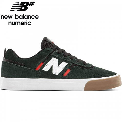 【NEW BALANCE NUMERIC ニューバランス シューズ】NM306GCI SHOES スウェード【グリーン/ホワイト】NO34
