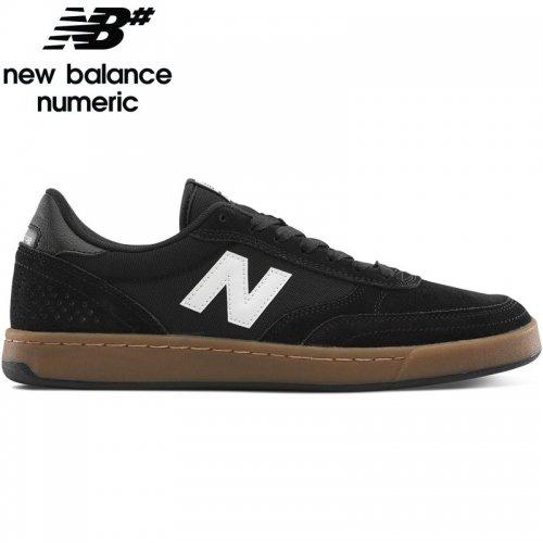 【NEW BALANCE NUMERIC ニューバランス シューズ】NM440GYG SHOES スウェード【ブラック/ガム】NO35