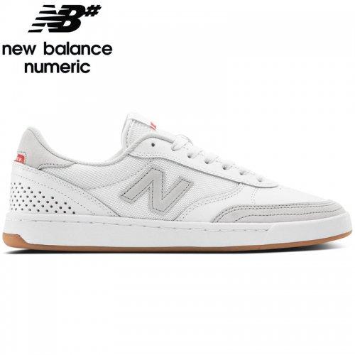 【NEW BALANCE NUMERIC ニューバランス シューズ】NM440WWR SHOES スウェード【ホワイト/グレー】NO36