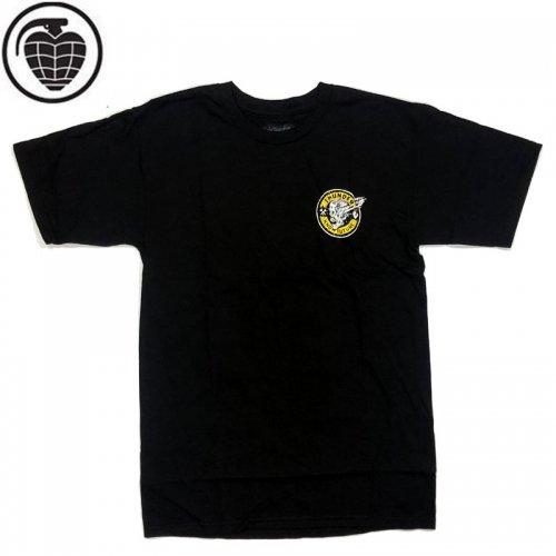 半額セール【サンダー THUNDER TRUCKS スケボー Tシャツ】SCREAMING MAINLINE TEE【ブラック】NO61