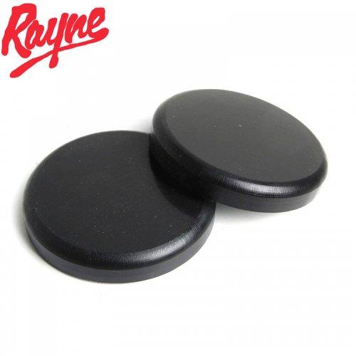 【RAYNE レイン ロングボード パーツ】SLIDE PUCK SET スライダーグローブ 交換用 パッド ブラック 2枚組 NO1