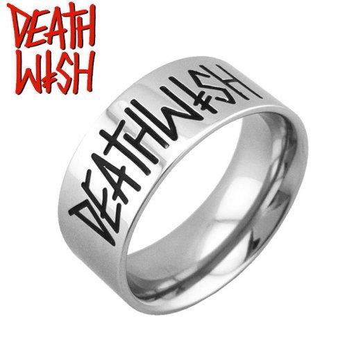 【デスウィッシュ DEATHWISH スケボー リング 指輪】DEATHSPRAY SILVER RING【シルバー】NO5
