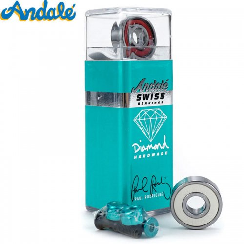 【ANDALE アンダレー スケボー ベアリング】P.ROD SWISS BEARINGS x DIAMOND HARDWARE NO11