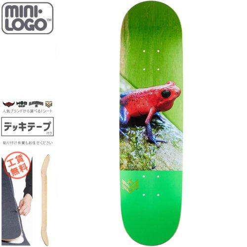【MINI-LOGO ミニロゴ スケボー デッキ】POISON TREE FROG DECK【7.5インチ】【7.75インチ】NO3