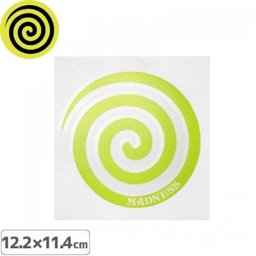 【MADNESS マッドネス スケボー ステッカー】SWERL STICKER【12.2cm x 11.4cm】NO2