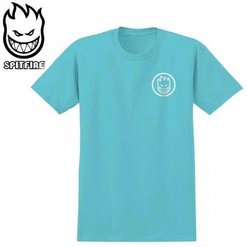 半額セール【スピットファイア SPITFIRE レディース Tシャツ】CLASSIC SWIRL GIRLS TEE【タヒチブルー×ホワイト】NO9