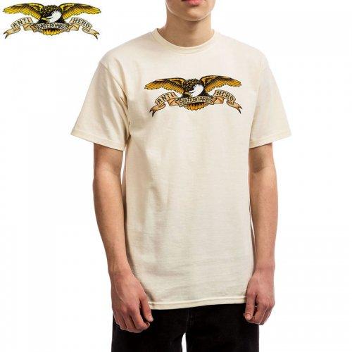 半額セール【アンタイヒーロー ANTIHERO スケボーTシャツ】EAGLE TEE【クリーム】NO111