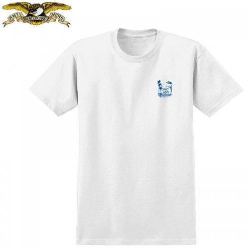 半額セール【アンタイヒーロー ANTIHERO スケボーTシャツ】DRINKS TEE【ホワイト】NO113